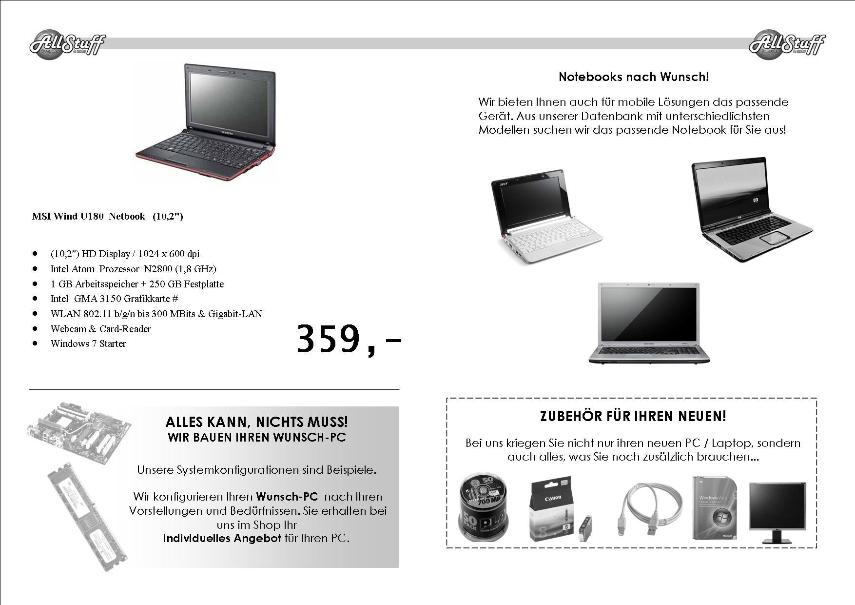 Angebote Und Service Im Neuen Allstuff Computer